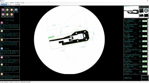 이미지 치수 측정-원샷 자동 측정